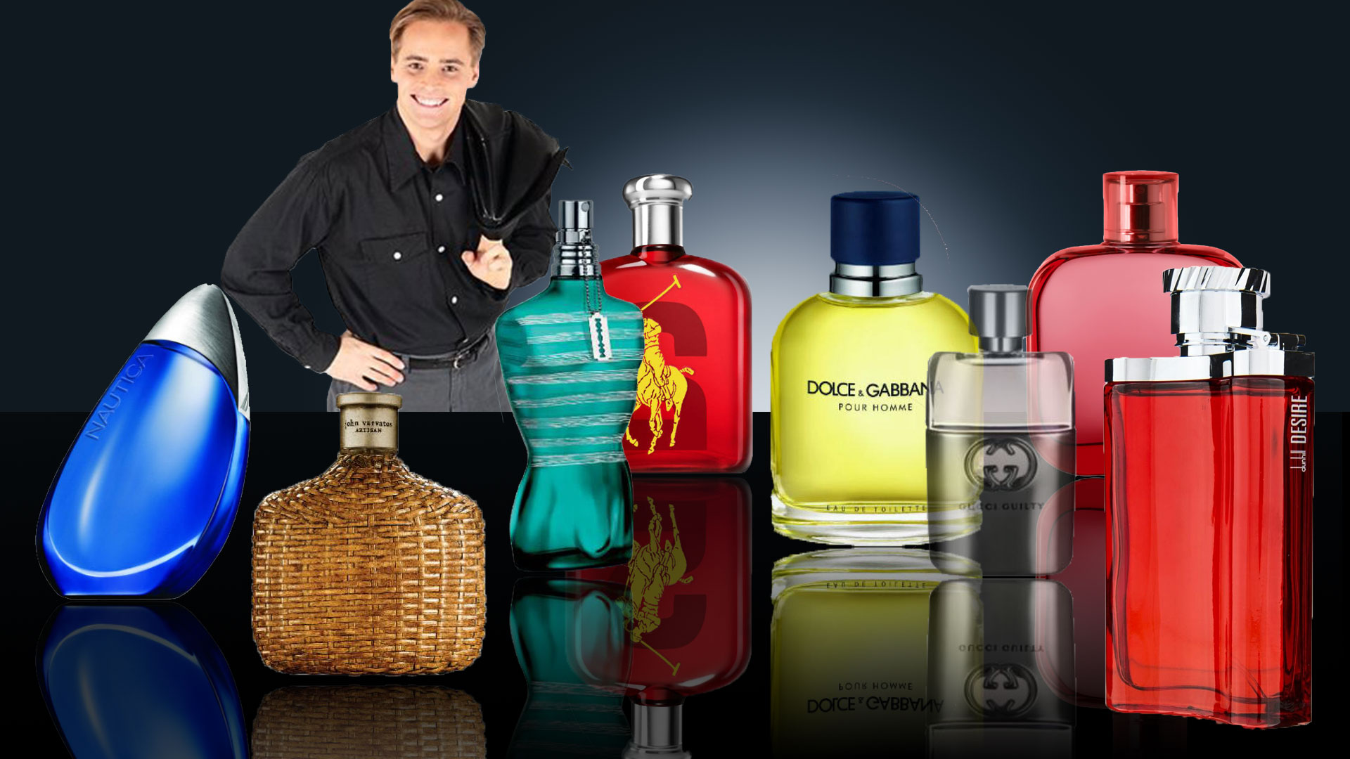 All the World Fragrances at your fingertips